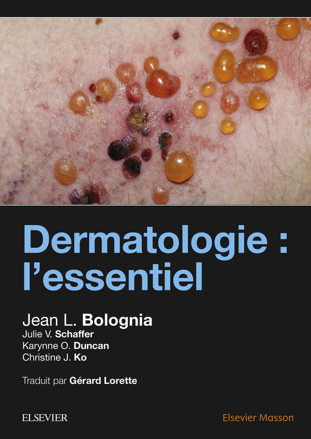 DERMATOLOGIE : L'ESSENTIEL pdf Cover